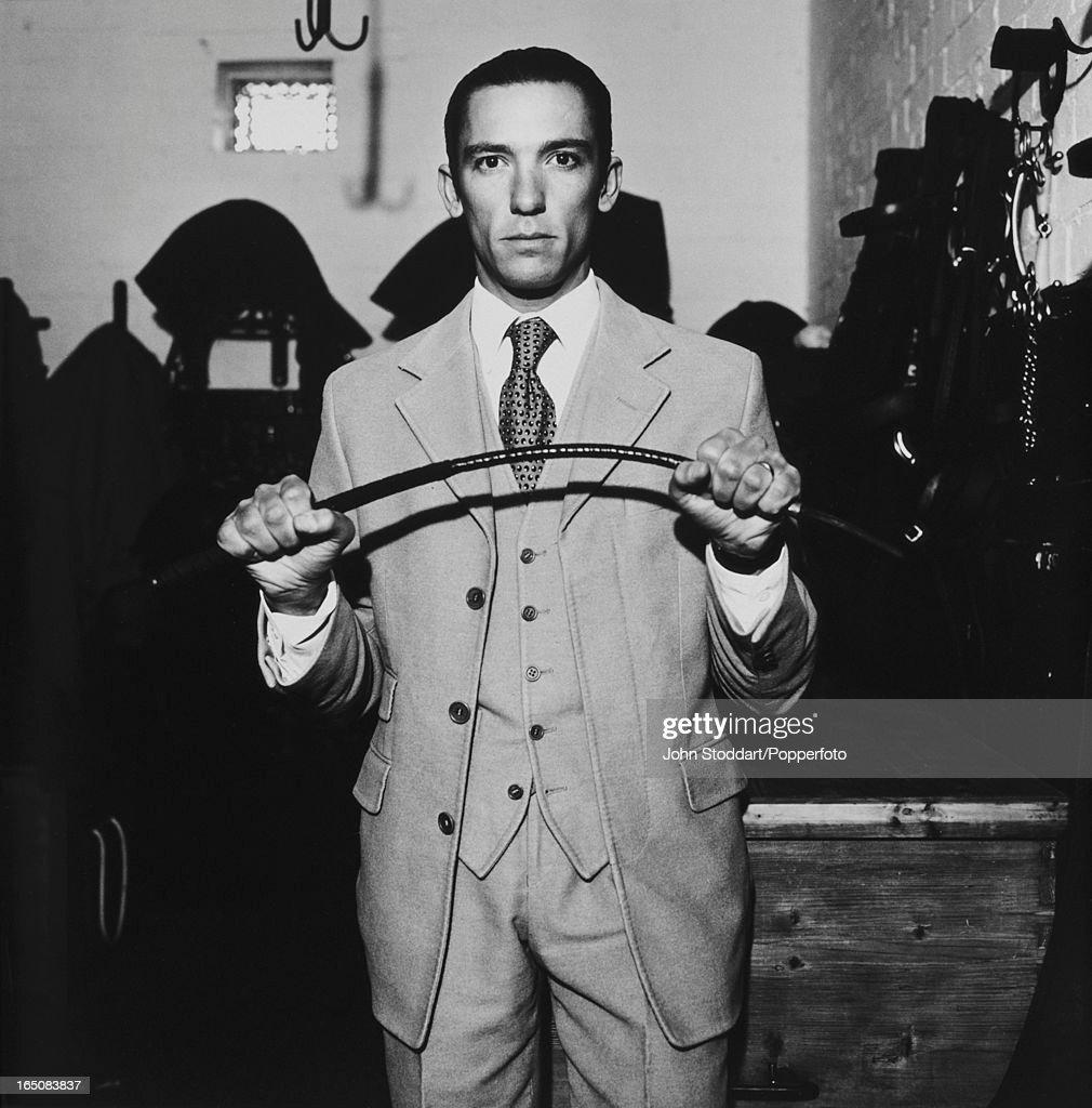 Italian jockey Frankie Dettori circa 2000