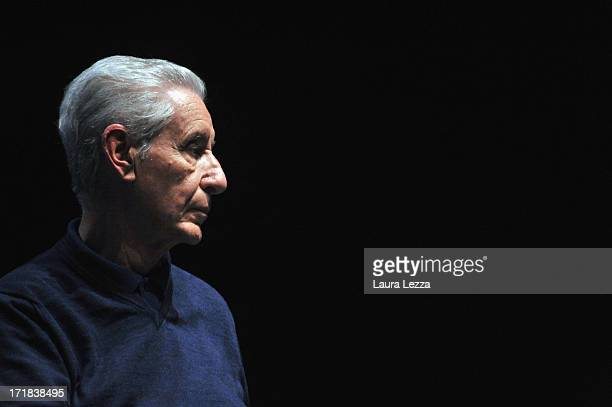 Italian jurist and politician Stefano Rodotà attend the Emergency National Meeting on June 28 2013 in Livorno Italy Independent Italian nonprofit...