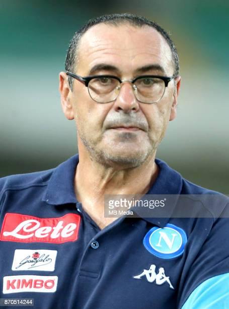 Italian League Serie A TIM 20172018 / 'r 'rMaurizio Sarri DT SS Calcio Napoli