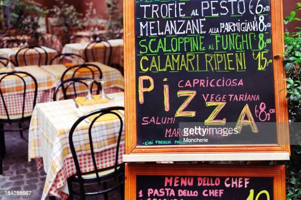 Italienische Menü