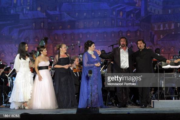 Italian mezzosoprano Sonia Ganassi Greek soprano Dimitra Theodossiou Argentinian mezzosoprano Maria Florencia Machado and Italian mezzosoprano Angela...