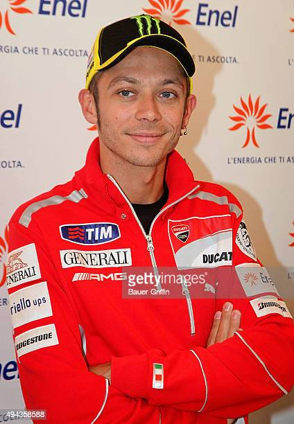 Italian Motogp world Champion Valentino Rossi is seen on May 10 2011 in Milan Italy