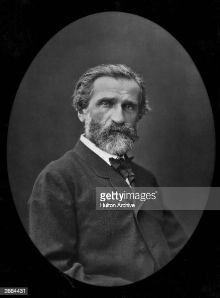 Italian opera composer of the Romantic period Giuseppe Verdi
