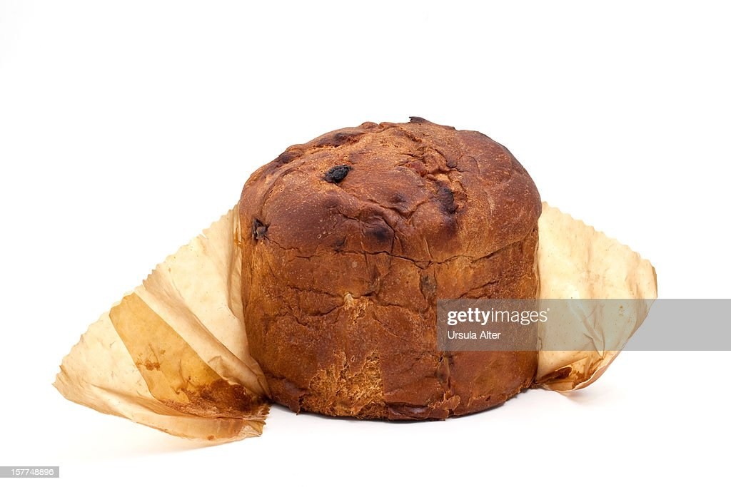 Italian panettone chistmas cake