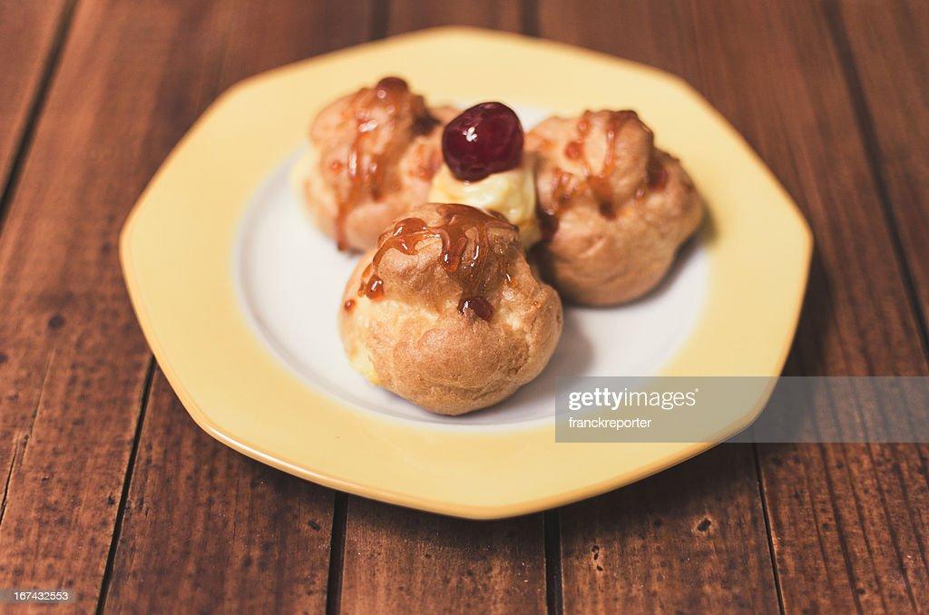Italian pastries : Stock Photo