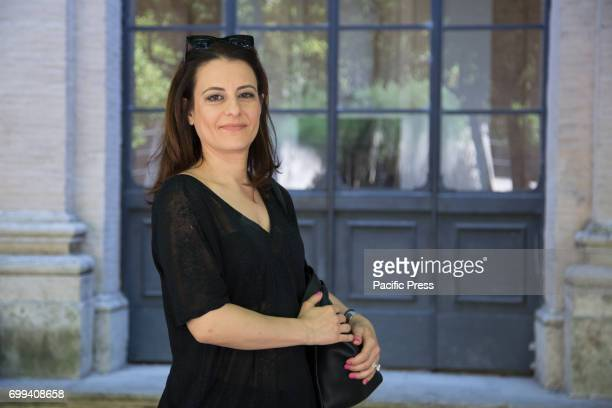 LETTERATURE ROMA RM ITALY Italian philosopher and journalist Chiara Lalli during photocall of the press conference of the second evening of...