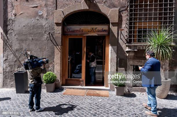 Italian police on behalf of the AntiMafia Investigative Directorate impounded famed Rome restaurant Assunta Madre in the central Via Giulia and...