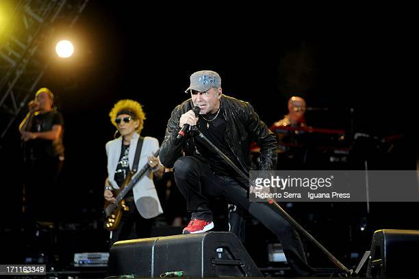Italian Popstar Vasco Rossi performs his concert 'Vasco Live Kom 013' at Stadio Renato Dall'Ara on June 22 2013 in Bologna Italy