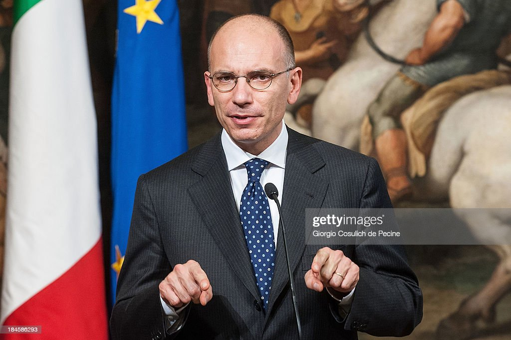 Enrico Letta Commemorates 70th Anniversary of The Deportation Of Roman Jews