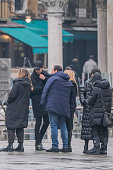 """""""Celebrity Hunted """" Filming In Venice"""