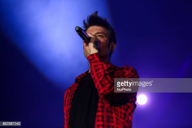 Italian rapper Fedez and JAx opened their resounding quotComunisti col rolex tourquot with an expected sold out at Pala Alpitour of Turin Italy on 11...