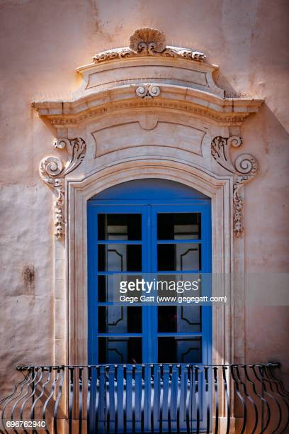 Italian rustic window in Note, Sicily