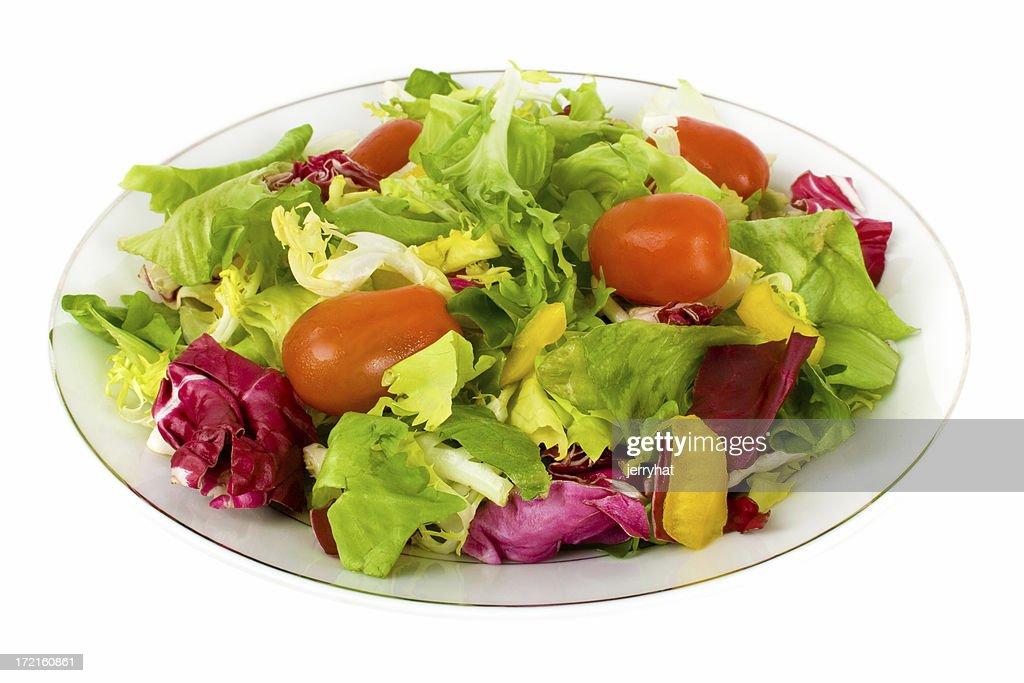 Italian Side Salad no dressing : Stock Photo