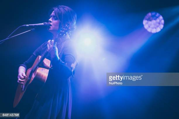Italian singer and songwriter Carmen Consoli performs live quotEco di Sirene Tour 2017quot at the Auditorium Parco della Musica Rome Italy on 4 March...