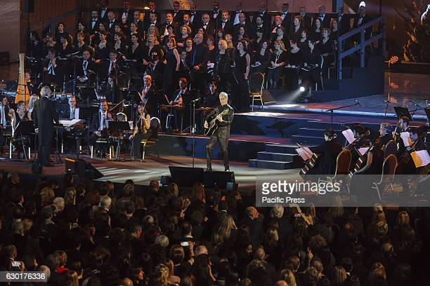 Italian singer Claudio Baglioni held a charity concert in Paul VI Hall to mark the bicentenary of the Gendarmerie Corps the distinguished corps that...