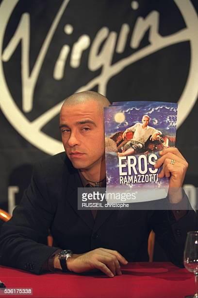 Italian singer Eros Ramazotti