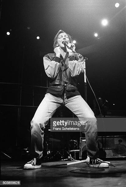 Italian singer Gianna Nannini performs at Carre on November 26th 1990 in Amsterdam the Netherlands