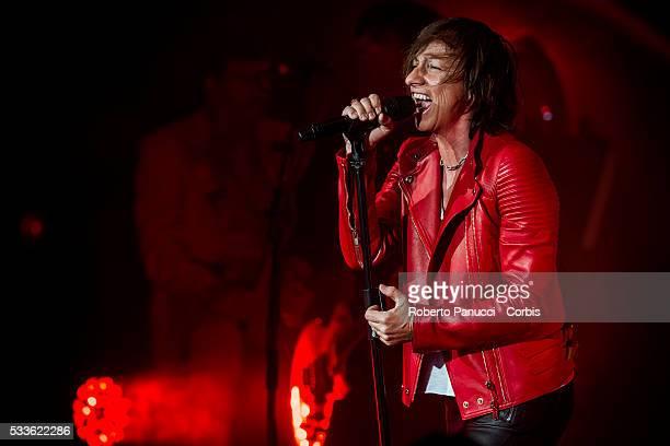 Italian singer Gianna Nannini performs in concert at Auditorium Parco della Musica on April 132016 in RomeItaly