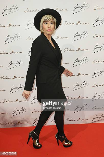 Italian singer Malika Ayane attends the 'Caserta Palace Dream' premiere at Capitol Club on March 25 2014 in Rome Italy