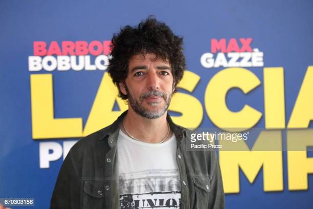 Italian singer Max Gazzè during photocall of italian movie 'Lasciami per Sempre' directed by Simona Izzo