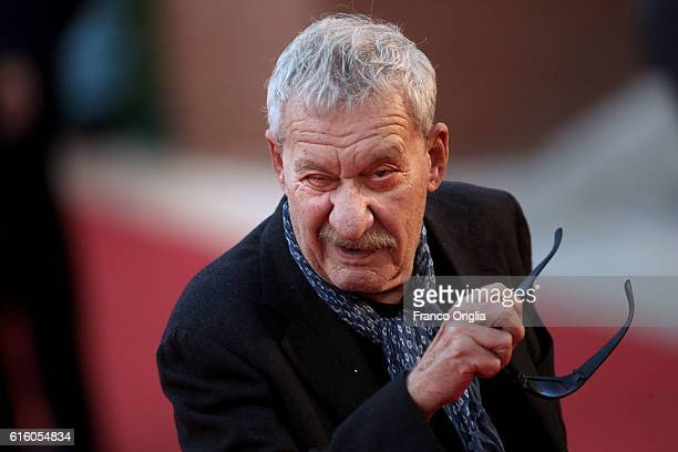 Italian singer Paolo Conte walks the red carpet during the 11th Rome Film Festival at Auditorium Parco Della Musica on October 21 2016 in Rome Italy
