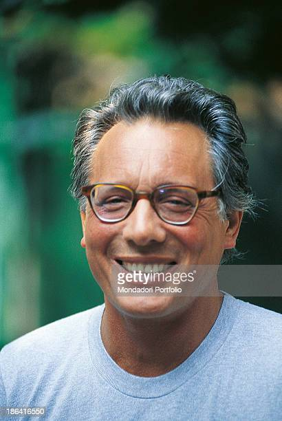 Italian singersongwriter standup comedian and actor Enzo Jannacci smiling The singersongwriter celebrates his thirtyyear career 1989