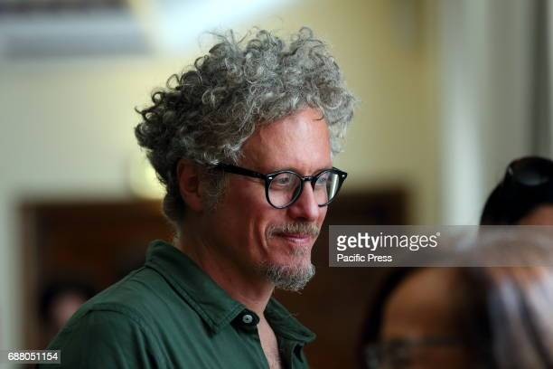 Italian songwriter Niccolò Fabi during the Press conference at the Ministry of Health to present the new and innovative app for the first...