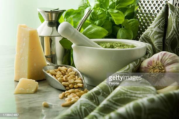 Italienne d'images fixes: Pesto