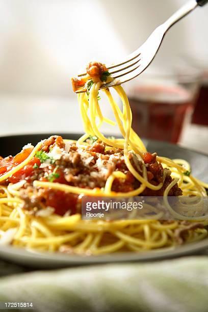 Italienische Fotos: Spaghetti Bolognese