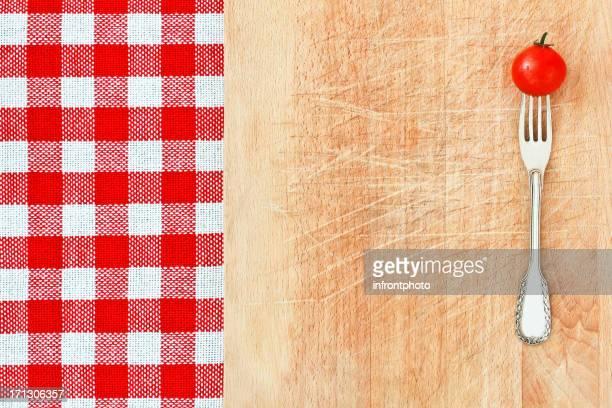 Italian Style Food Background