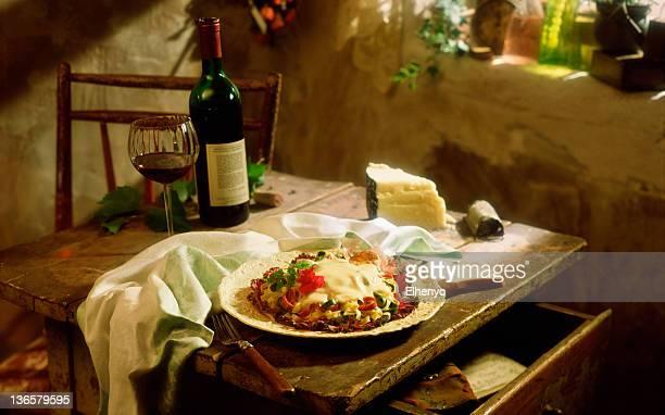 Italiano de la mesa.