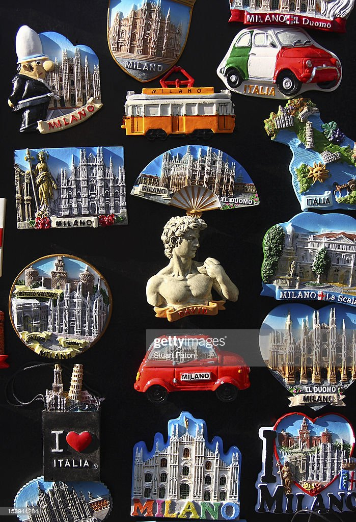 Italian tourist souvenirs : Stock Photo