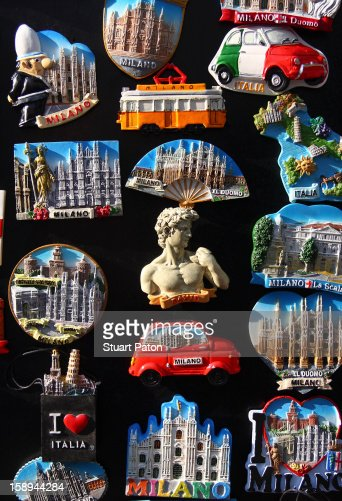 Italian tourist souvenirs : Stock Photo
