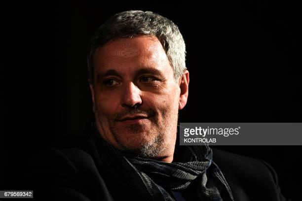 Italian writer Maurizio De Giovanni