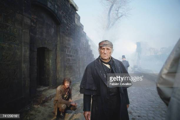 Italianborn actor Lino Ventura as Jean Valjean in 'Les Misérables' directed by Robert Hossein 10th March 1982