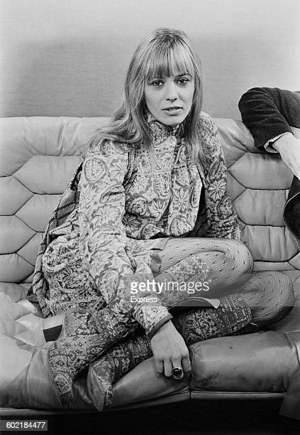 Italianborn actress and model Anita Pallenberg UK 31st January 1971