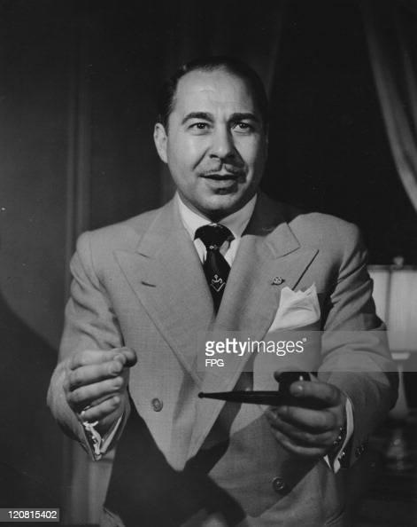 Italianborn Hollywood publicist Guido Orlando circa 1945