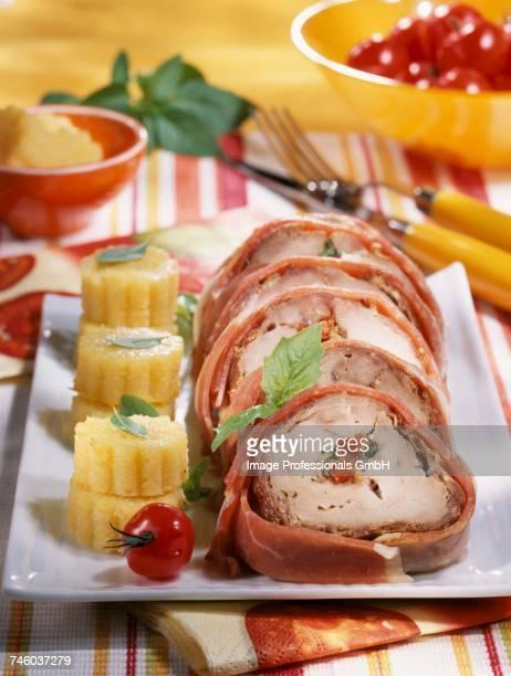 Italian-style stuffed Filet Mignon