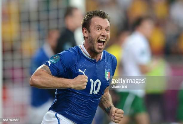 FUSSBALL EUROPAMEISTERSCHAFT 0 Antonio Cassano