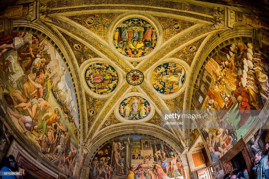 Italien Rom Vatikanisches Museum Stanzen des Raffael Stanza dell'Incendio do Borgo