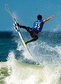 Italo Ferreira of Brazil surfs during his Round 3 heat at the Oi Rio Pro on May 15 2015 in Rio de Janeiro Brazil