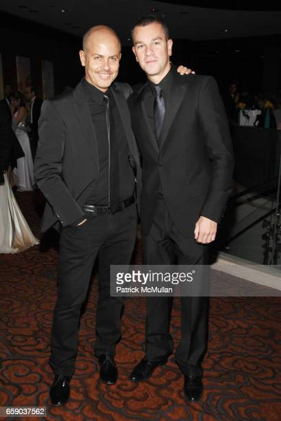 Italo Zucchelli and Josh Reed attend NEW YORKERS FOR CHILDREN Sixth Annual Spring Dinner Dance 'New Year's in April A Fool's Fete' at Mandarin...