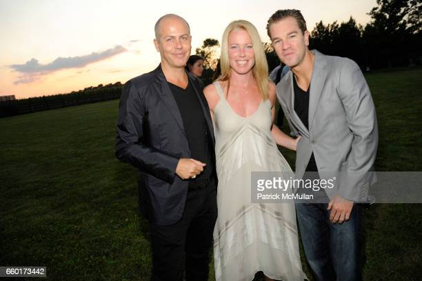 Italo Zucchelli Jennifer Crawford and Josh Reed attend ACRIA's Annual 'Cocktails at Sunset' Presented by Calvin Klein Collection Vanity Fair at...