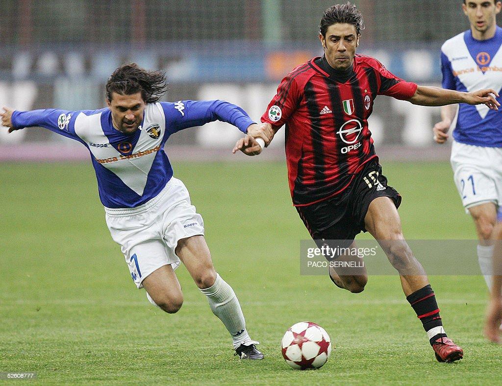AC Milan s midfielder Manuel Rui Costa