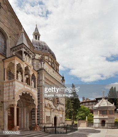 Italy. Bergamo. The old town.