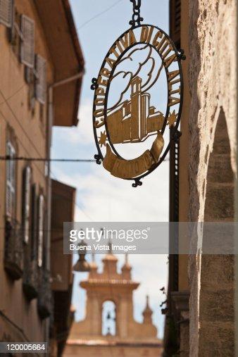Italy. Bergamo. The Old Town : Stock Photo