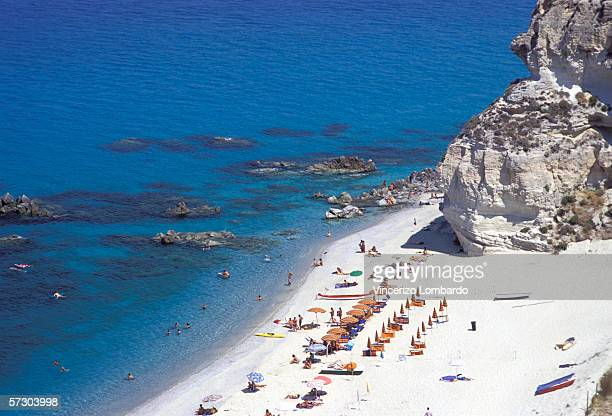 Italy, Calabria, Tropea, Gulf Of Ricadi.