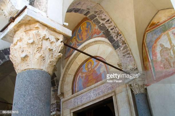 Italy, Campania, Capua, basilica Sant'Angelo in Formis
