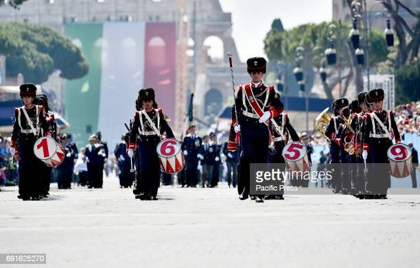 IMPERIALI ROME LAZIO ITALY Italy celebrates the 71st birthday of the Republic President Mattarella laid a crown in front of the Unknown Soldier to...