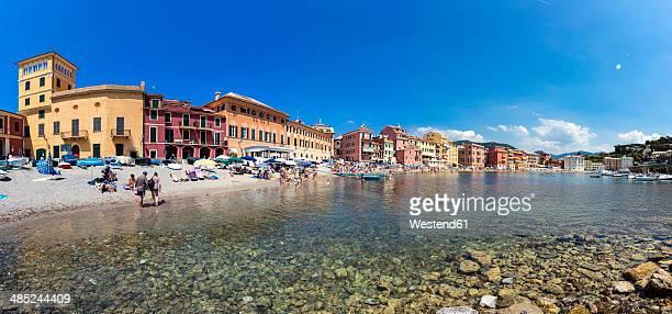 Italy, Cinque Terre, Sestri Levante, Baia del Silenzio